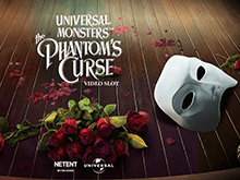 Играйте онлайн в Universal Monsters The Phantom's Curse Video Slot